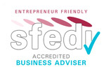 Accredited SFEDI Business Advisor logo